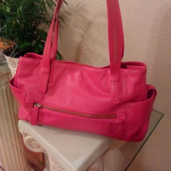 Sigrid Olsen Bags   Leather Shoulder Bag Dusty Rose   Poshmark 82eb43f34e